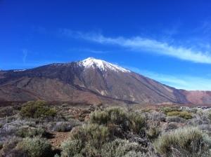 Volcano in Tenerife - 3,718m
